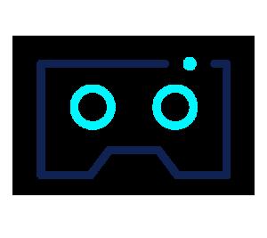 ORIGINELLE VR-BRILLEN